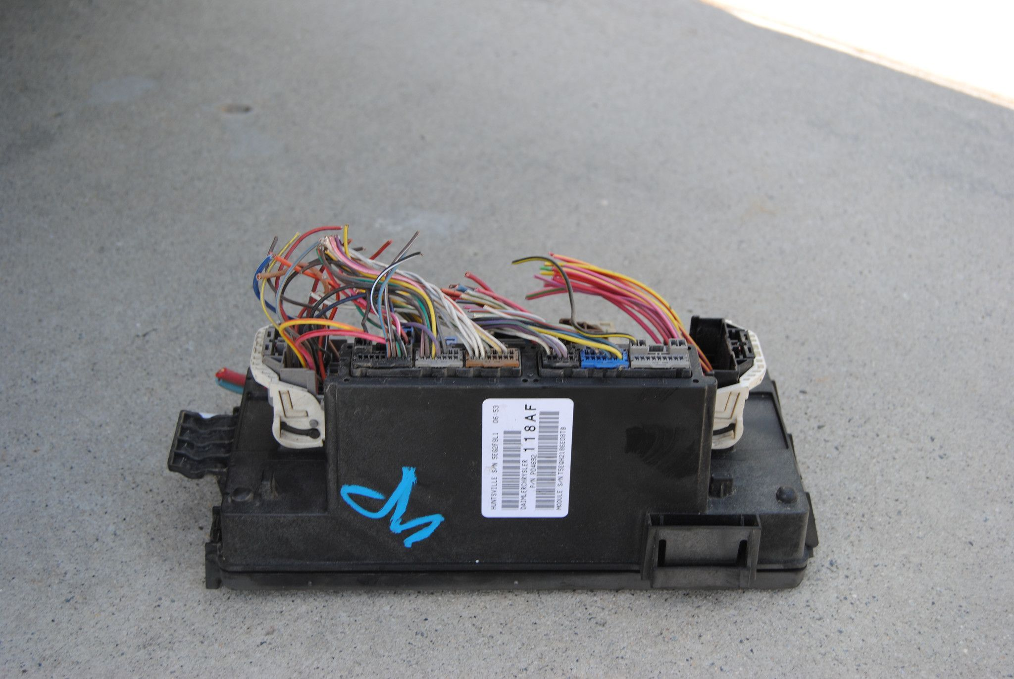 hight resolution of 07 dodge ram tipm totally integrated power module relay fuse box p04692118af