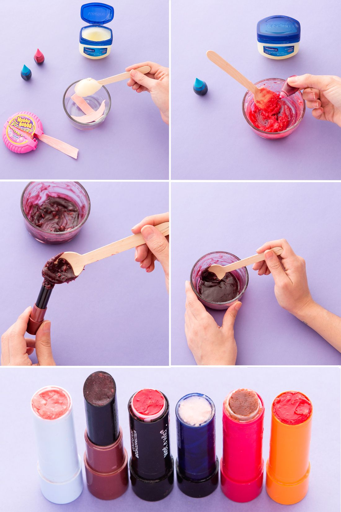 I Made Lipstick Out Of Bubblegum And This Is What Happened Diy Lipstick How To Make Lipstick Diy Lip Gloss