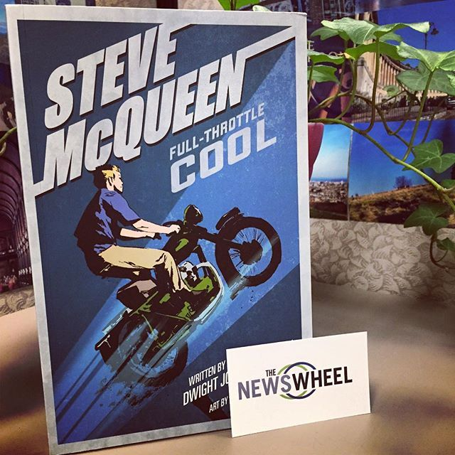 Hey everyone don't forget! You only have a day left to enter our #SteveMcQueen #giveaway! This is how you enter:  1. Follow @thenewswheel 2. Comment on this post  It's really that simple! You'll automatically enter to #win the awesome Steve McQueen: Full-Throttle Cool book. It doesn't get any better than that! #giveaway #contest @quartodrives Liking the photo will not give you an entry. You must follow @thenewswheel and then comment on this post!