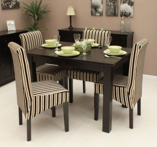 Type of Dinig Tables   Types of Dining tables; the fabric makes the set!