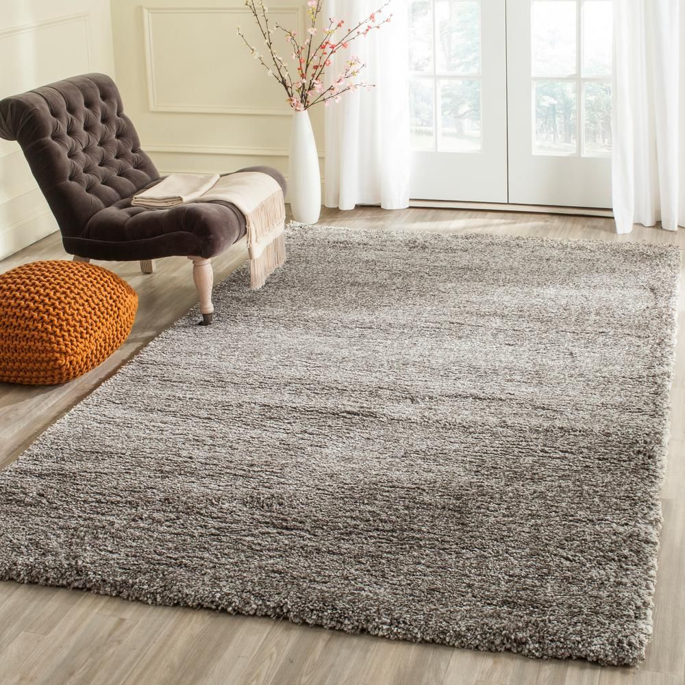 Milan Shag Gray 8 Ft. 6 In. X 12 Ft. Area Rug