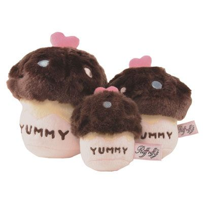 Chocolate Cupcake Dog Toy Chocolate Dog Dog Toys Chocolate