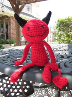 Ravelry: Red Devil pattern by Sayjai Thawornsupacharoen