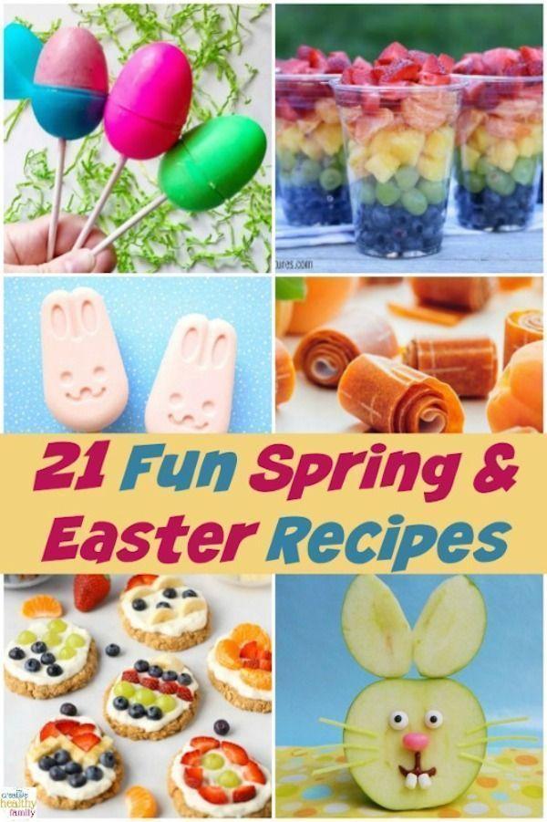 Photo of 21 Frühlings- und Osterrezepte. Möchten Sie die Osterkörbe Ihrer Kinder mit e…