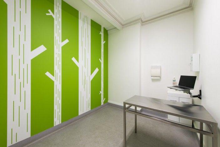 Veterinary Interior Design Vet Surgery Consult Room Paredes