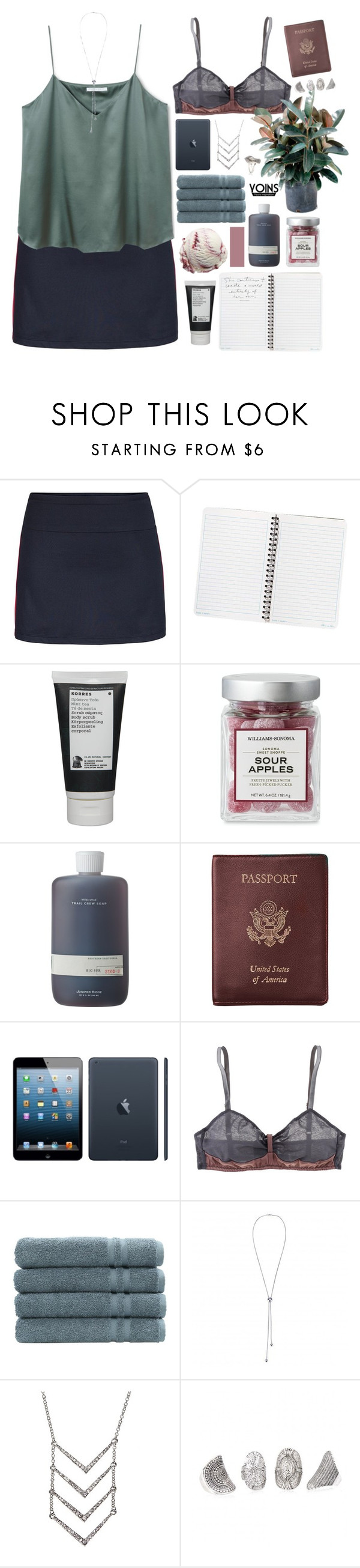 """""""Yoins // Plant Girl"""" by ritaflagy ❤ liked on Polyvore featuring Tail, Korres, Royce Leather, Apple, Araks, Linum Home Textiles and yoins"""