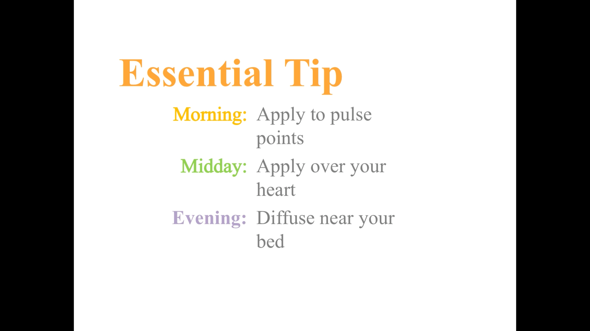 Pin by Jody Wenzel on Essential Oils How to apply, Pulse