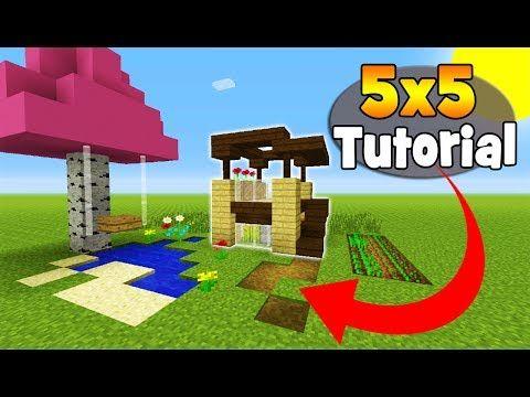 Httpminecraftstreamcomminecrafttutorialsminecrafttutorial - Minecraft modern house 5x5