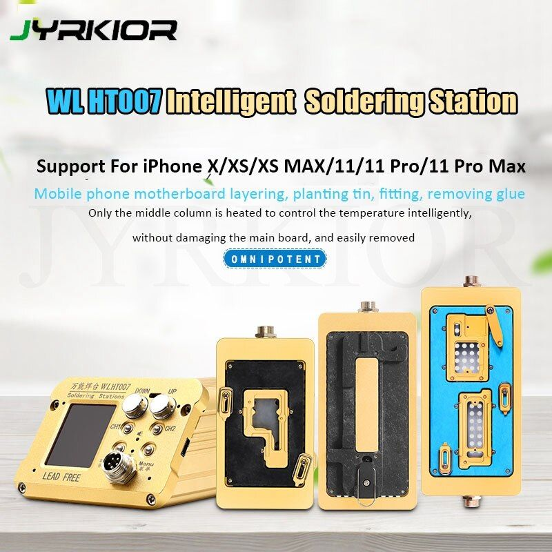 Wl Ht007 Pre Heater Intelligent Motherboard Layered Soldering Station For Iphone X Xs Xsmax 11 11 Pro 11 Pro Max Motherboard Iphone Mobile Phone Hand Tool Sets