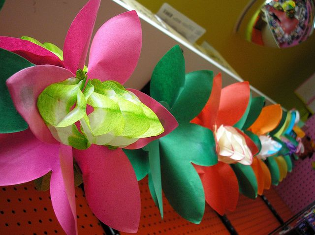 Tropical Flower Garland by Archie McPhee Seattle, via Flickr