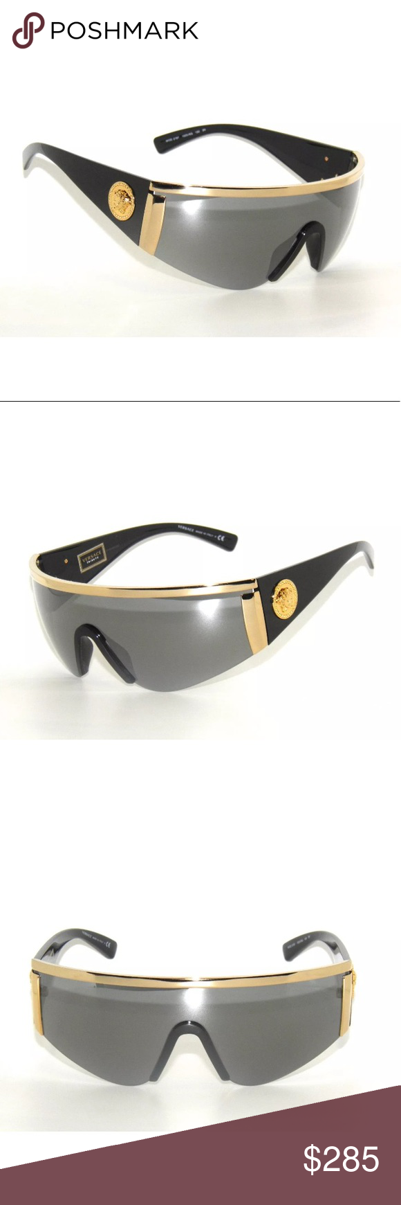 766999a9b24 Versace Sunglasses 2197 black and gold Brand New Comes with All accessories  Authentic Versace Accessories Sunglasses