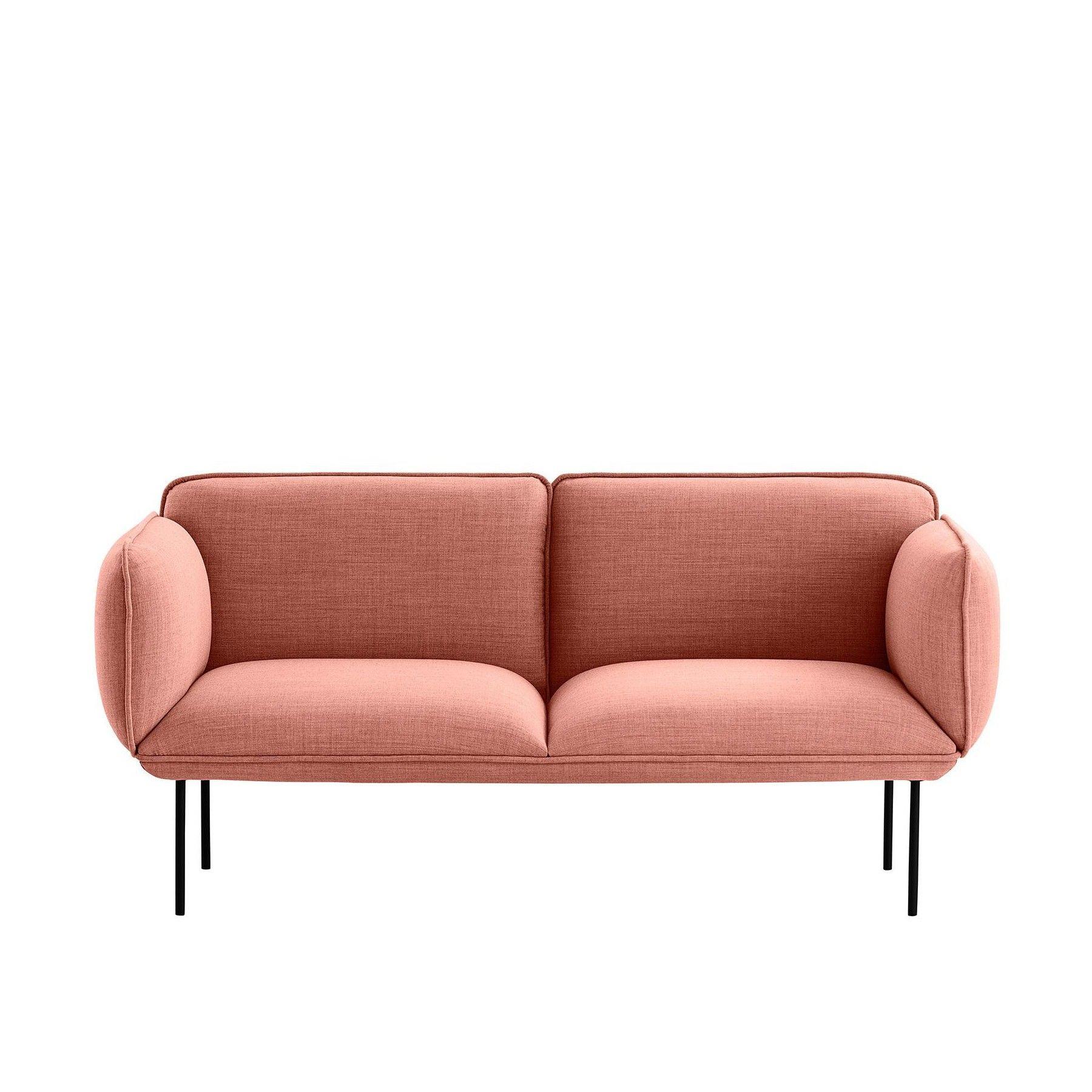 Nakki 2-Seater Fabric Sofa | Sofa stoff, Stoffsofa, Sofa
