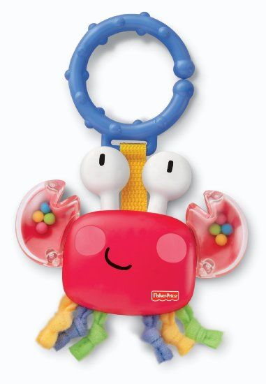 4ff8dd1546f Fisher-Price Discover n' Grow Clacker, Crab (Discontinued by Manufacturer)