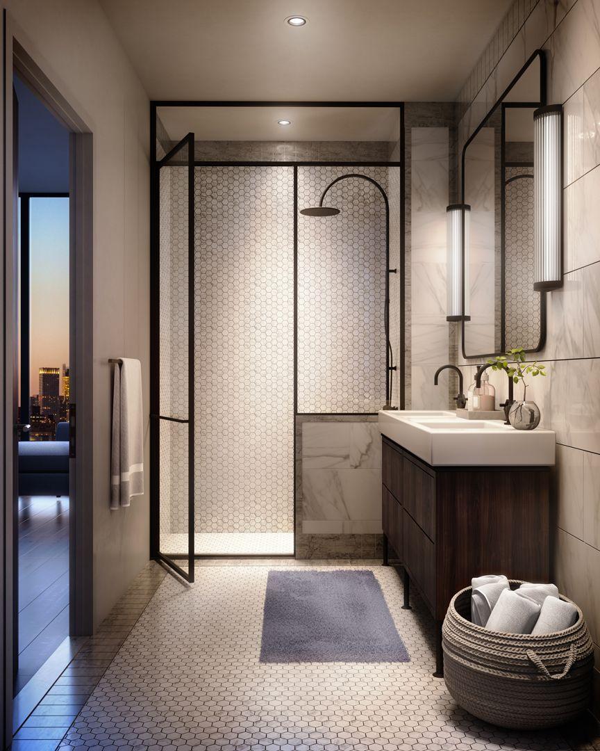 greenpoint brooklyn condo bathroom  condo bathroom