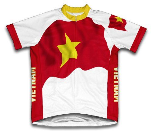 Vietnam Flag Short Sleeve Cycling Jersey for Women Size S     Want  additional info  Click on the image. 736bd9006