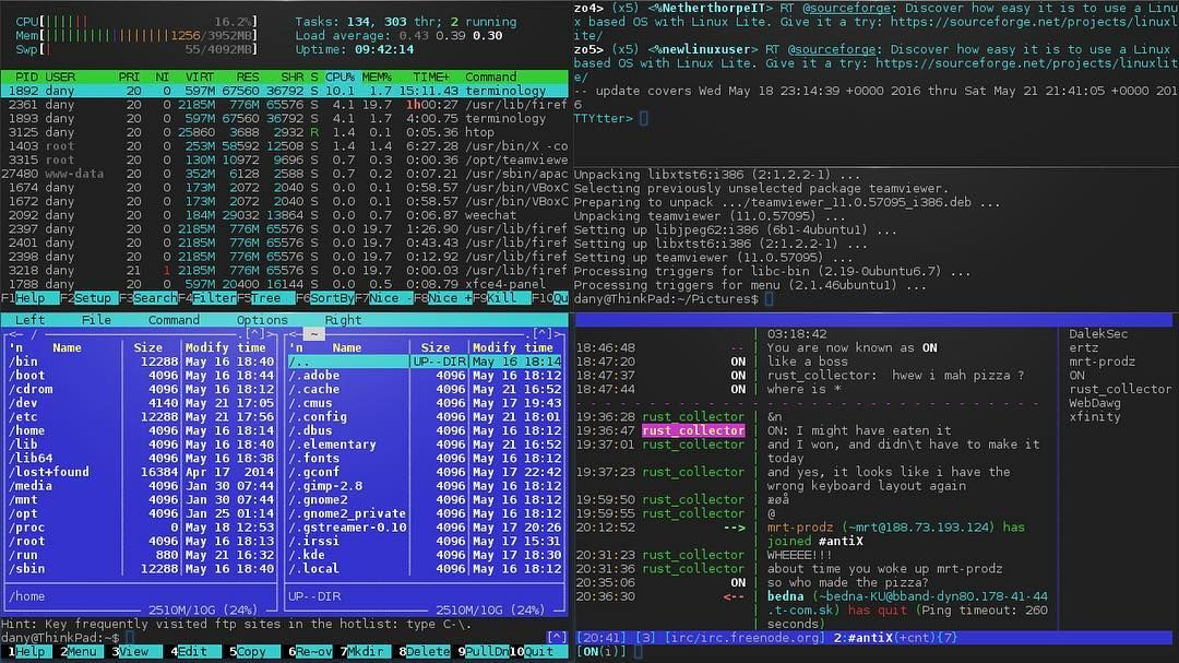 terminology one of my favorite #terminal emulators  #TTYtter