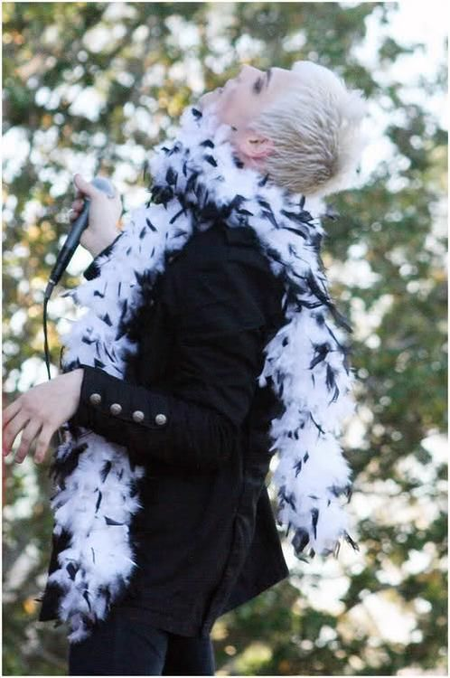Gerard Way ~ Sass King ~ My Chemical Romance (oops i have this picture on my phone)