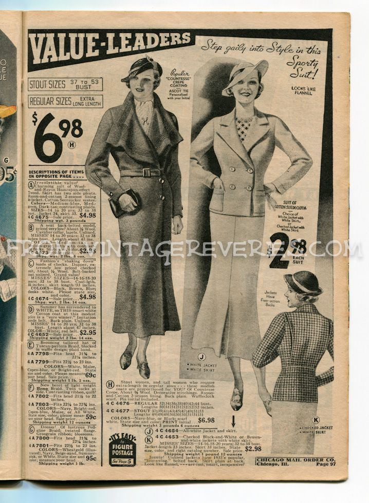 1930s Women S Suit And Coat Styles Suits For Women Coat Fashion Affordable Fashion Websites