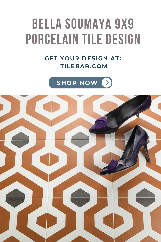 9x9 Room Design: Bella Soumaya 9x9 Porcelain Tile In 2020