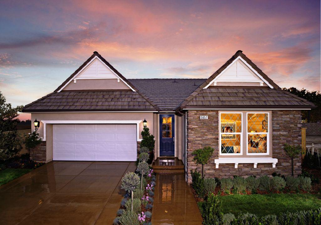 Residence 2 Model Forkner Crest Fresno Ca House