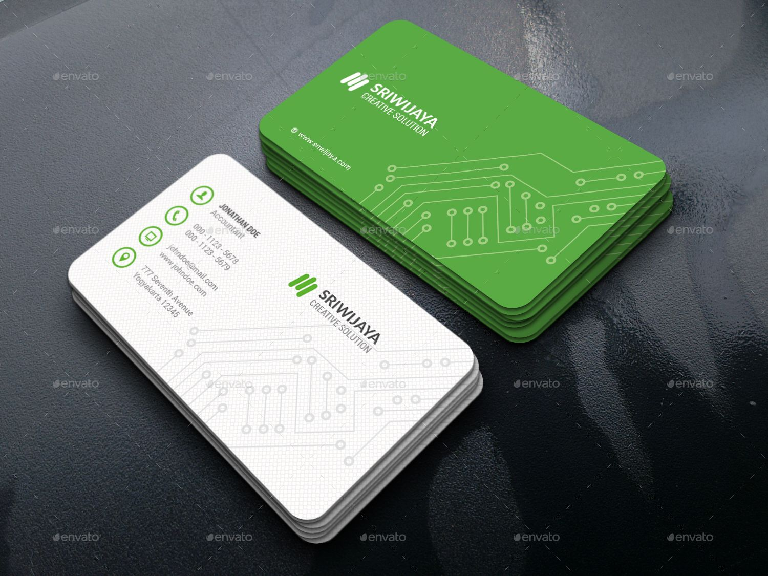 Business Card Electronic Engineer Image collections - Card Design ...