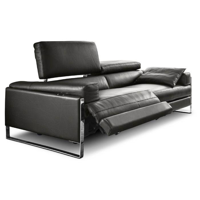 Sofa - romeo relax - CAL 808 - Dunkelgrau | Segmüller Onlineshop
