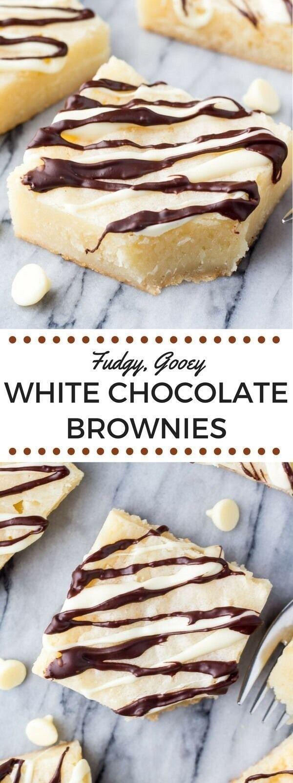 26 Wonderful White Chocolate Desserts