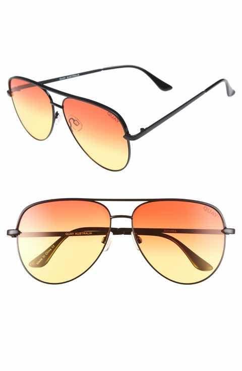 dd07b47cab029 Quay Australia x Desi Perkins Sahara Aviator Sunglasses