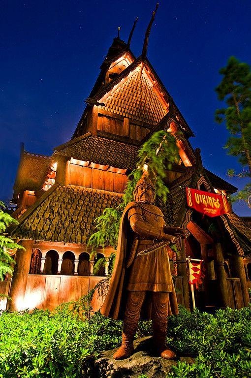 Norway Pavilion at Epcot, Walt Disney World, FL...Love this place