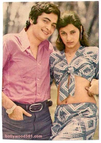 Rishi Kapoor And Dimple Kapadia In Bobby Vintage Bollywood Bollywood Pictures Bollywood