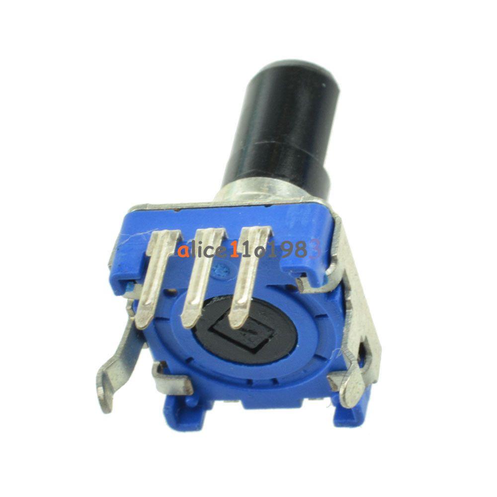 2Pcs Rotary encoder EC12 Audio digital potentiometer 5mm handle