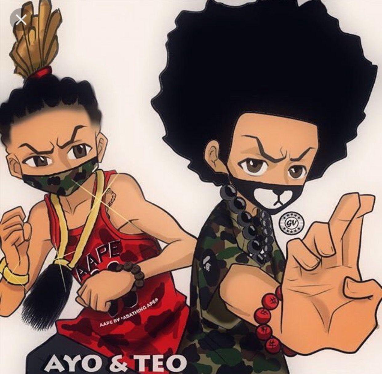 Boondocks Ayo And Teo Pop Art Pinterest