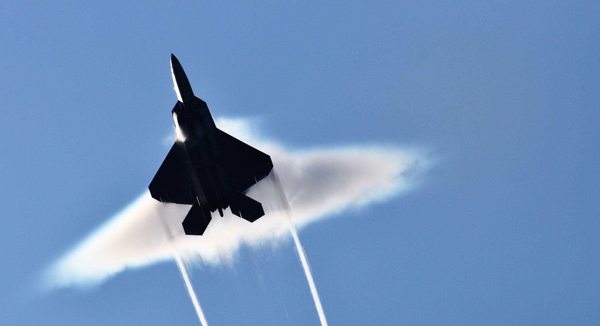 Supersonic Fighter jets, Jet, Sound barrier