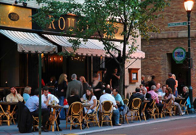 Perfect Spot For Lunch At Rittenhouse Square Rouge
