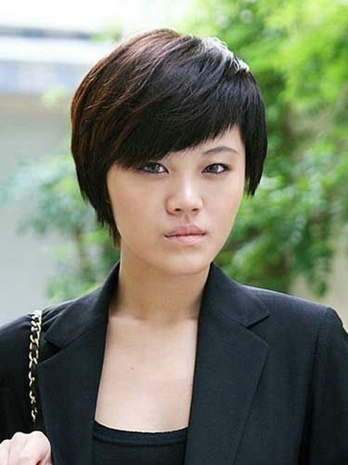 Simple And Easy Short Hairstyles Asian Women Short Hairstyles For Thick Hair Thick Hair Styles Short Hair Styles