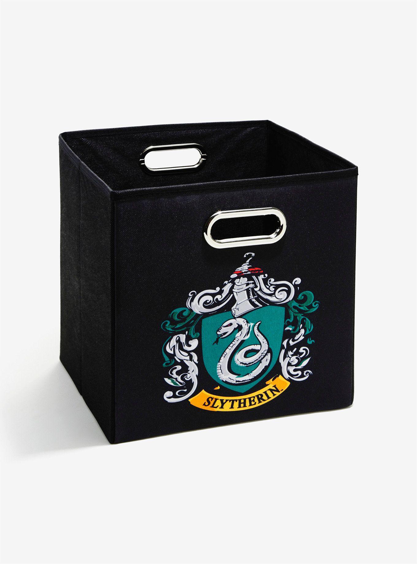 Harry Potter Slytherin Storage Bin Slytherin Slytherin Crest Harry Potter Bedroom