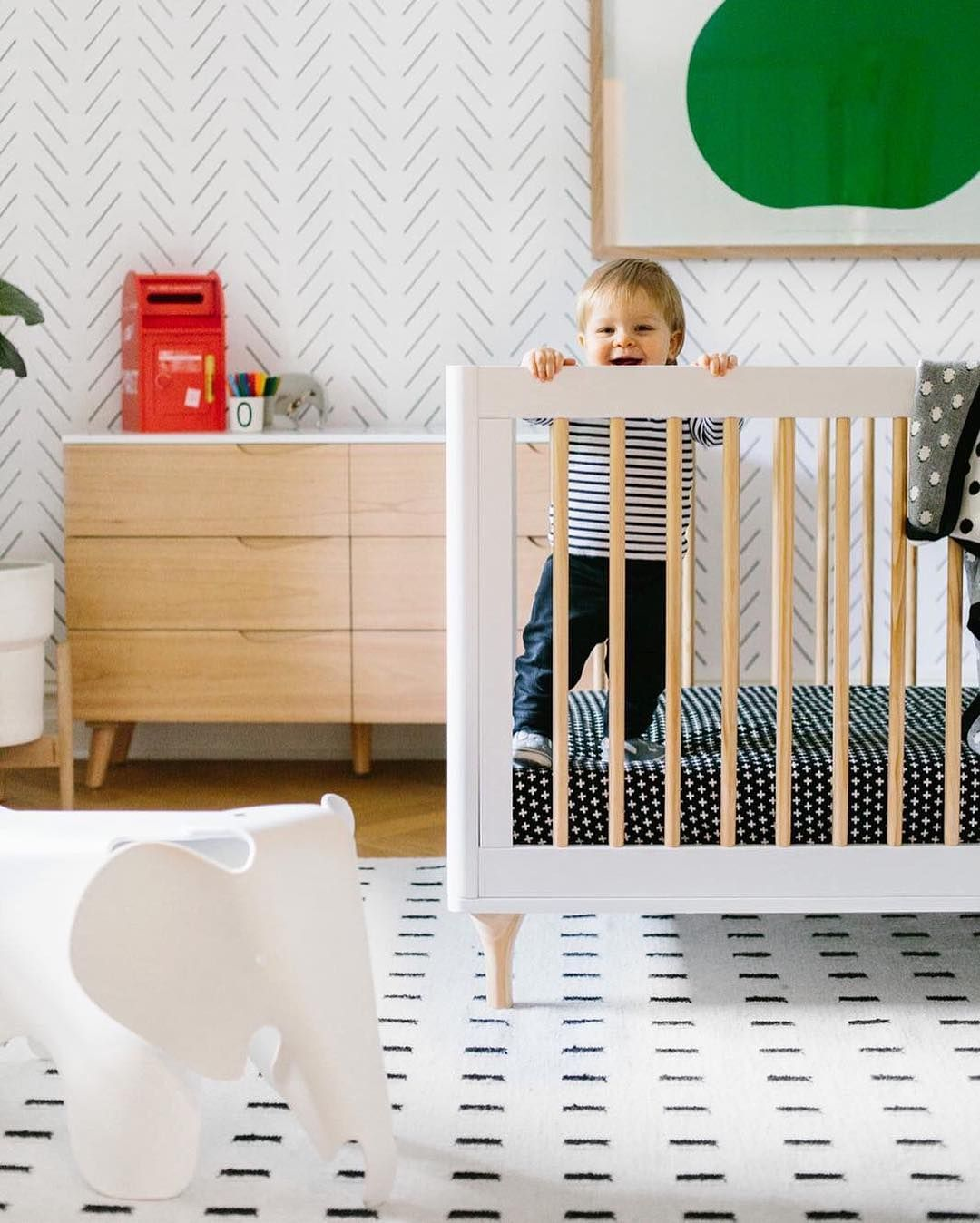 When to Change to a Toddler Bed?   Baby nursery neutral ...