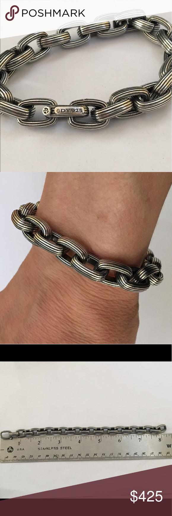 David yurman menus streamline link bracelet pinterest