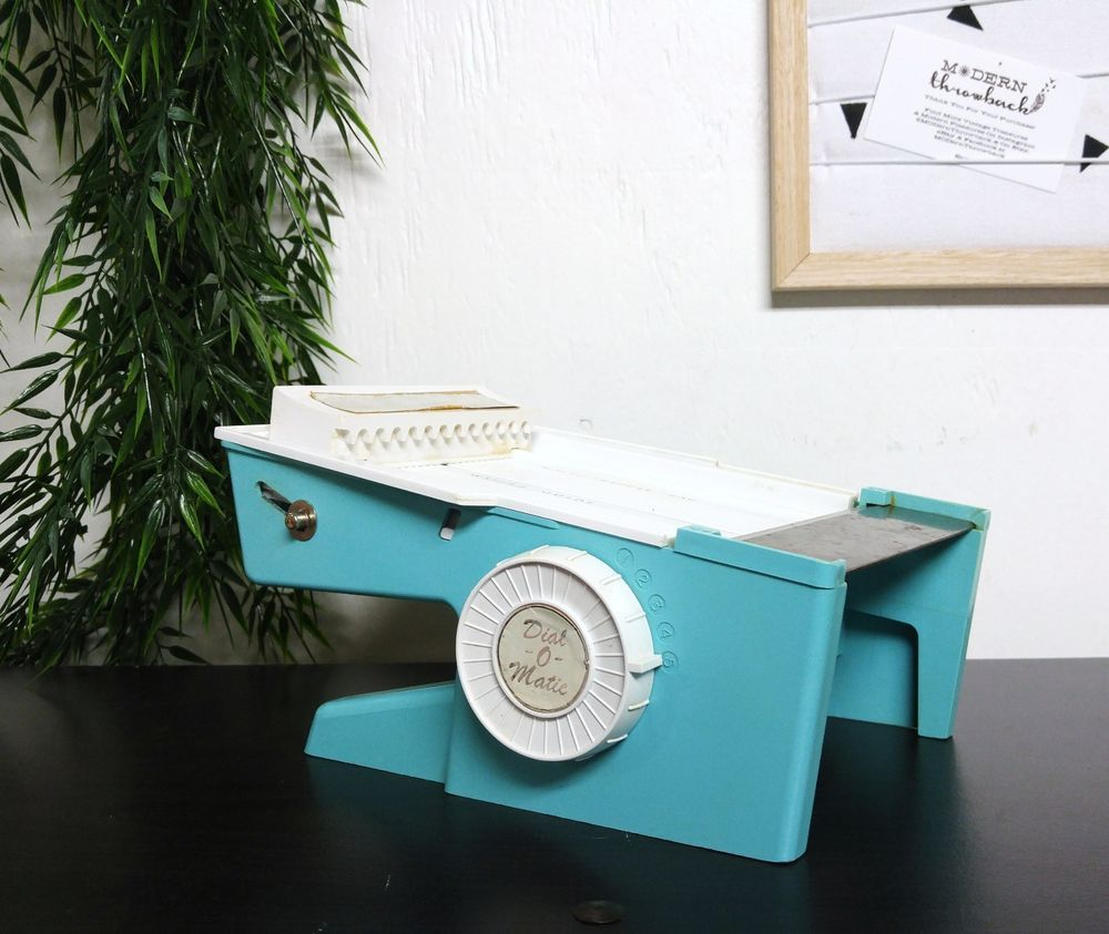 VTG Dial O Matic Popeil Brothers Food Slicer Cutter EXTRA BLADE 50s ...