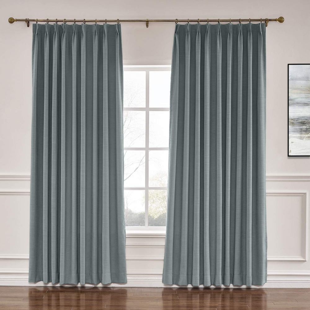 Pin By Ashley Lachterman On Growing Up Casa In 2020 Pleated Curtains Pinch Pleat Curtains Sliding Door Curtains