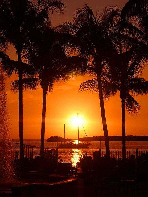 Sunset Sanibel Island Florida