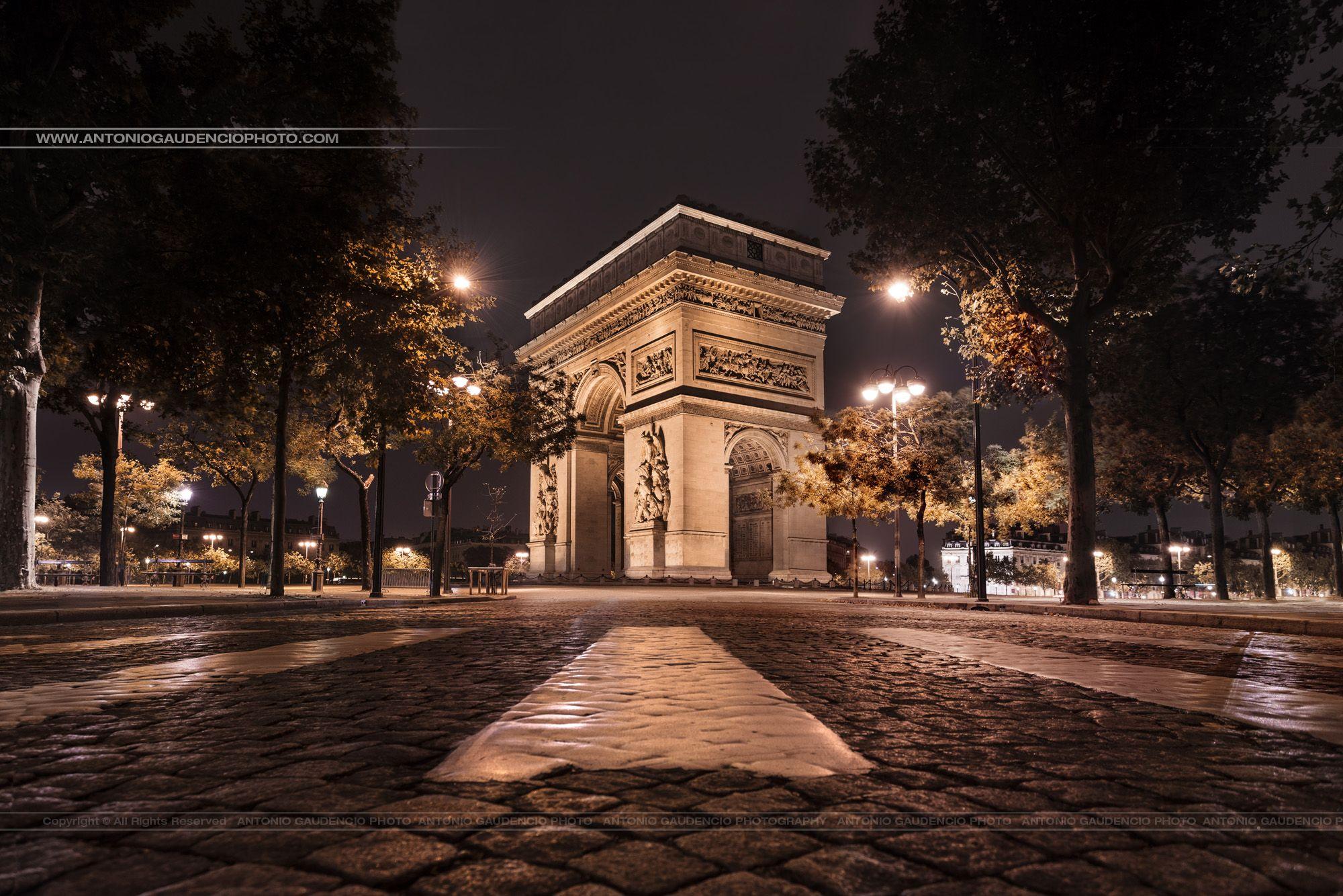 Paris France Arc de Triomphe -www.facebook.com/antoniogaudenciophotographie