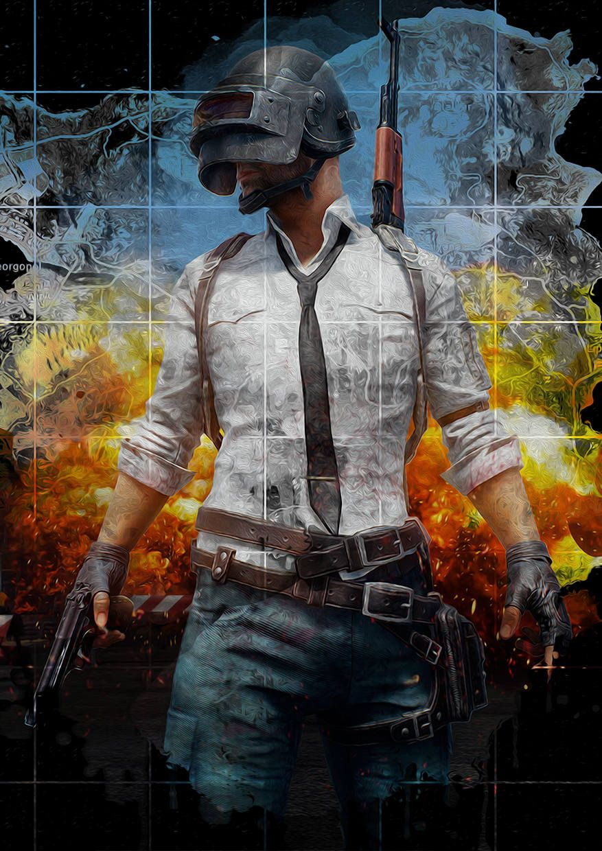 Battlegrounds Tribute - Type C by ShamanAlternative on Etsy