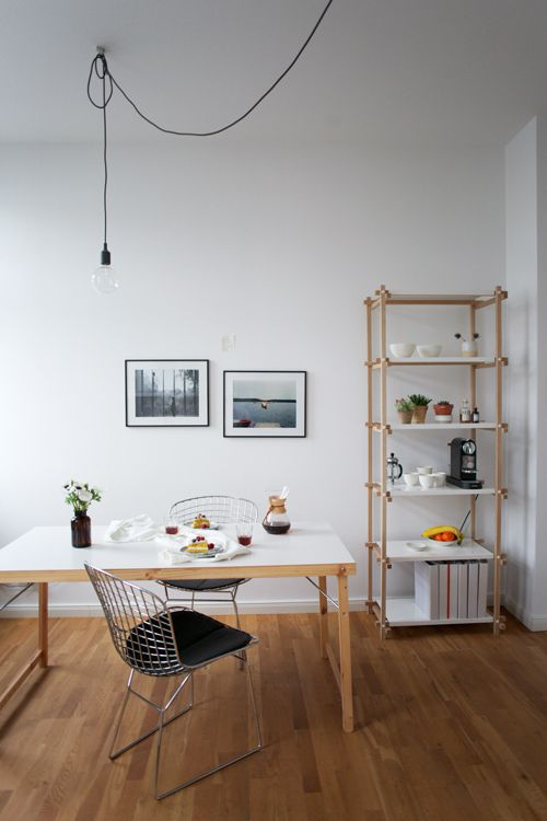 Hereinspaziert in die Berliner Wohnung der Our Food Stories - esszimmer landhausstil ikea