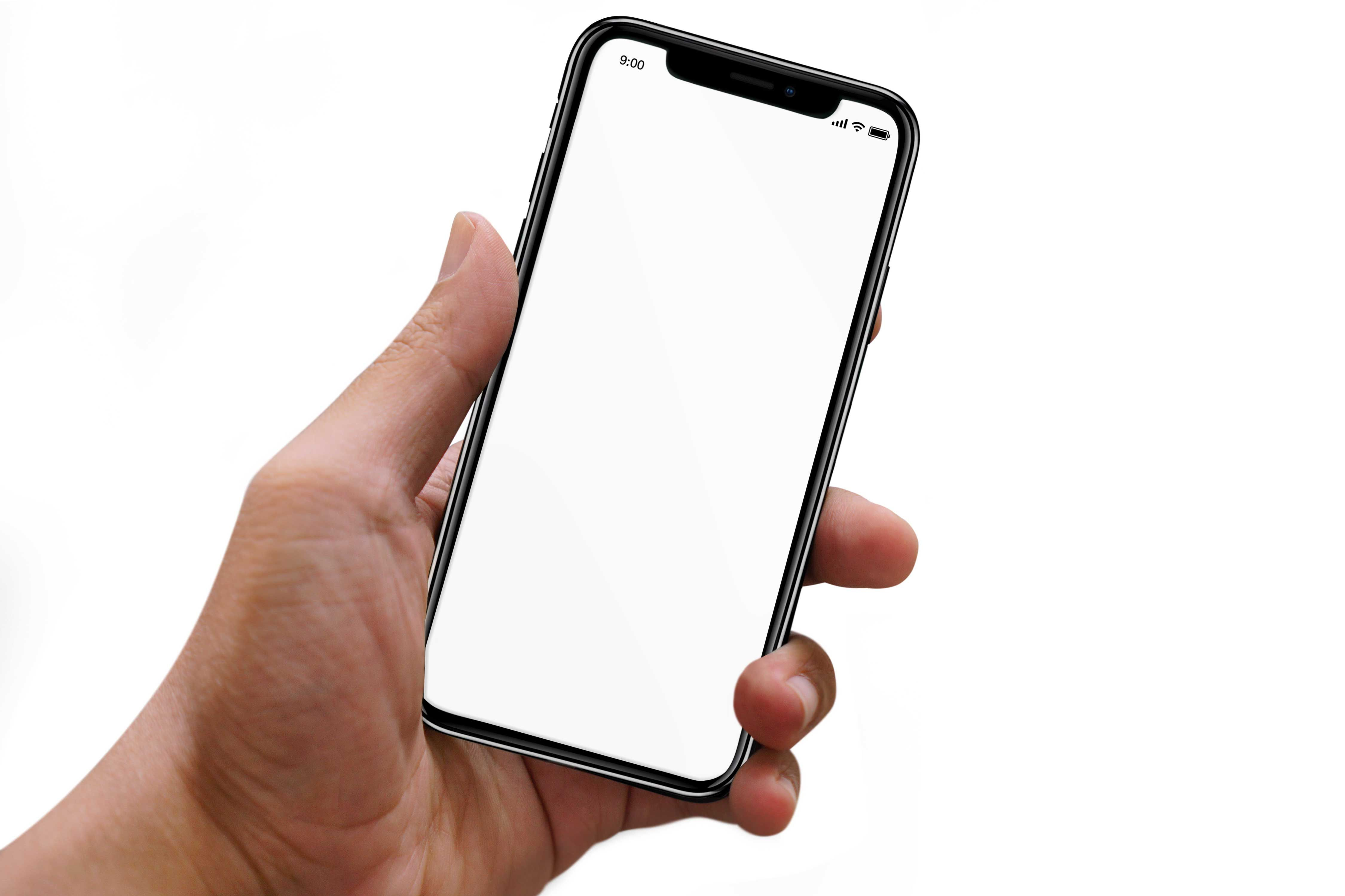 Free Iphone X In Hand Mockup Pixelify Best Free Fonts Mockups Templates And Vectors Free Iphone Phone Photography Android Iphone