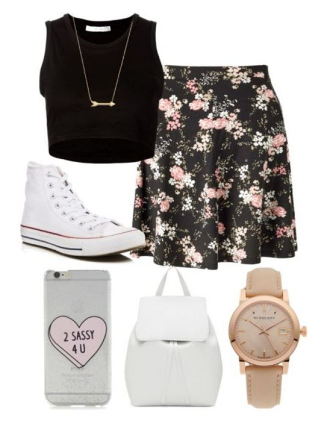 08a80e971032 20 First Day Of School Outfit Ideas For College Girls – SOCIETY19