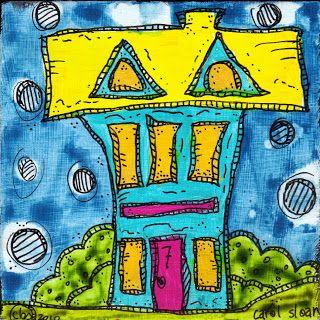 Sketchbook Challenge Blog Hop ~Carol Sloan