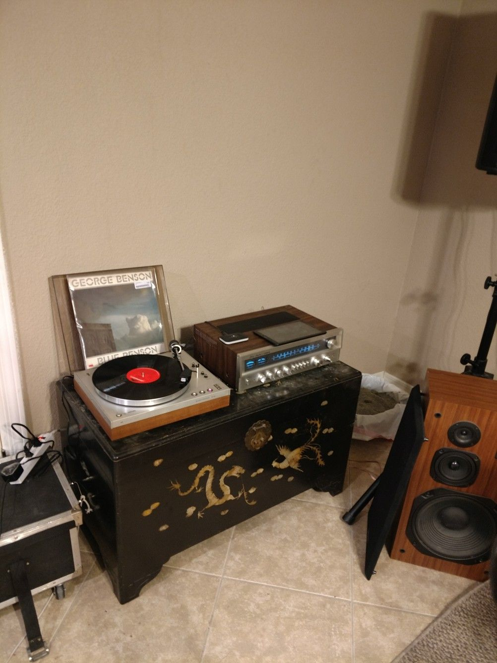 My new Phillips Turntable and Fisher Receiver | STEREO