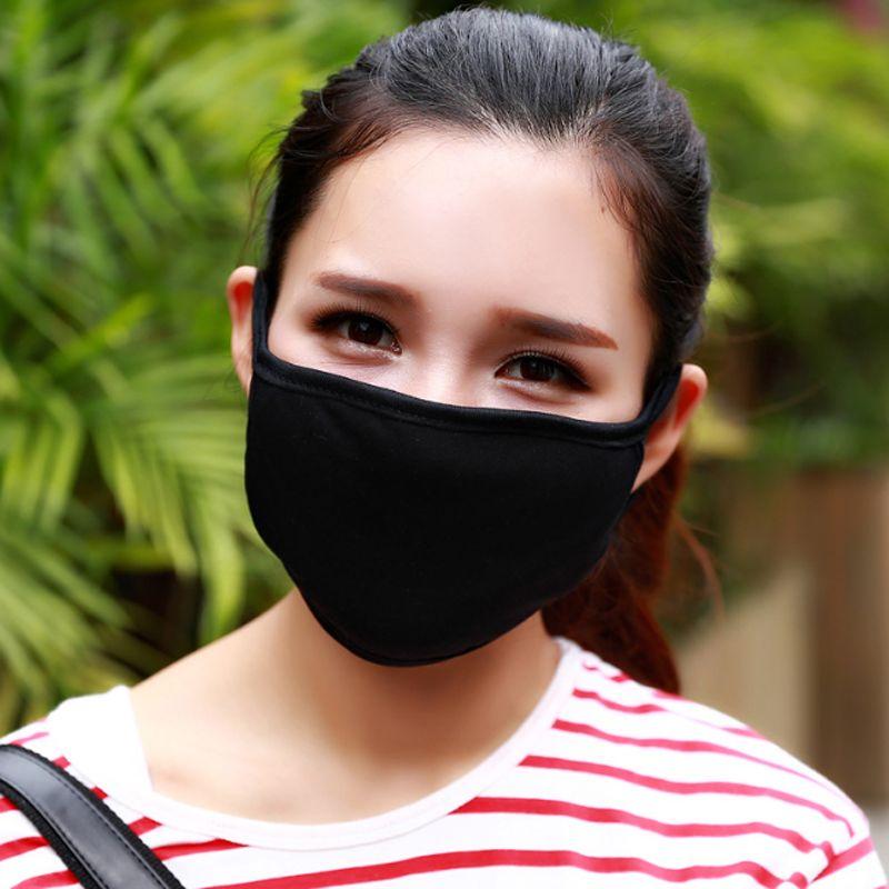 Neue Unisex-Schwarzes Radfahren AntiDust Cotton Mundgesichtsmaske Atemschutzmas