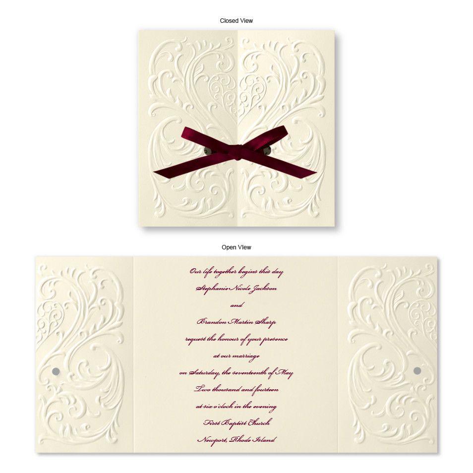 size of response cards for wedding invitations%0A Custom Wedding Invitations  Save the Date Cards  u     Wedding Stationary